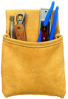 1 POCKET - NAIL BAG