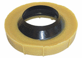 HARVEY'S - NO-SEEP, WAX GASKET with FLANGE