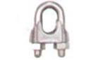 WIRE ROPE CLIPS Malleable, Electro-Galvanized